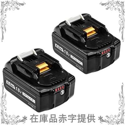 Ashillos 互換 マキタ18v バッテリー BL1860B 交換可能バッテリー マキタバッテリー 18v 6.0Ah 安全 保護機能 リチウム