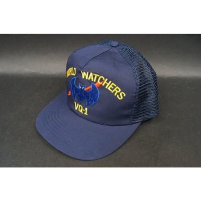 航空機グッズ キャップ 識別帽 USN アメリカ海軍 VQ-1 第1偵察飛行隊 ワールドウォッチャー/中古