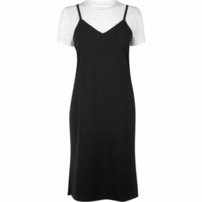 ジェイディーワイ JDY レディース ワンピース スリップドレス ワンピース・ドレス Slip Dress Black/Cloud