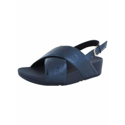 FitFlop フィットフロップ ファッション サンダル FitFlop Womens Lulu Molten Metal Sandals Shoes