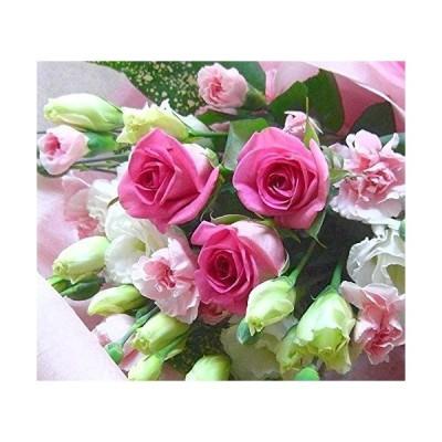 花想久里 はなおくり ピンクバラ の ブーケ 生花 成人の日 成人式 成人 のお祝い 送別 お礼 プレゼント 誕生日 恋人の日 フラワーギ