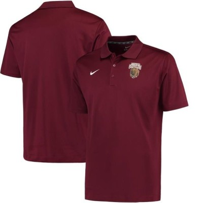 ユニセックス スポーツリーグ アメリカ大学スポーツ Montana Grizzlies Nike Varsity Dri-FIT Polo - Maroon Tシャツ