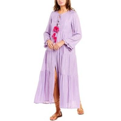 サンドレス レディース ワンピース トップス SUNDRESS Neo Maxi Dress purple gauze