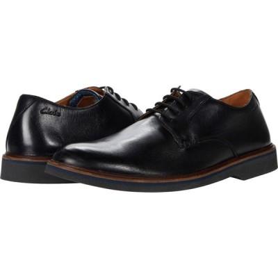 クラークス Clarks メンズ 革靴・ビジネスシューズ シューズ・靴 Malwood Plain Black Leather