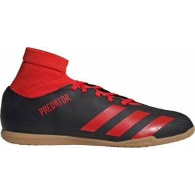 アディダス メンズ スニーカー シューズ adidas Men's Predator 20.4 S Sala Indoor Soccer Shoes Black/Red