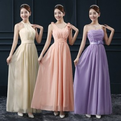 パーティードレス エレガント チューブトップ イブニングドレス 韓国ファッション m134 0215