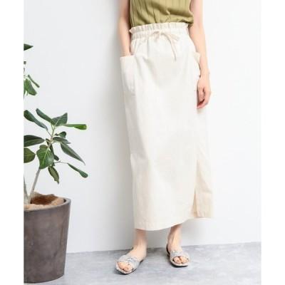 スカート サイドポケットナロースカート / LAKOLE