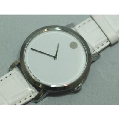 バード正規品腕時計  自動巻き  裏スケルトン白バンド