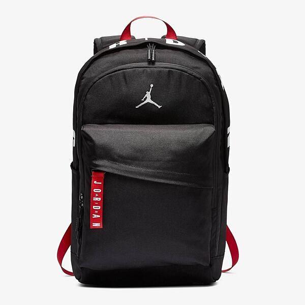 Nike Jordan Backpack [9A0172-023] 後背包 雙肩包 運動 休閒 筆電 透氣 舒適 黑紅