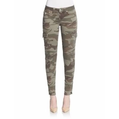 トゥルー リリジョン レディース パンツ Camo-Print Skinny Cargo Pants