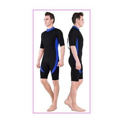 【送料無料】DEHAI Wetsuit Men Women 3mm Neoprene and 2mm Full Body Long Shorty Sleeve Wet Suit Suitable Teen Adult Youth Ladies Male D