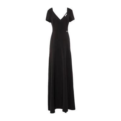 ブルーガール ブルマリン BLUGIRL BLUMARINE ロングワンピース&ドレス ブラック 42 ポリエステル 88% / ポリウレタン 12
