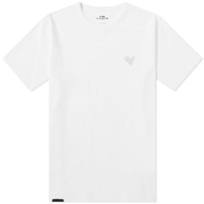 コーチ Coach メンズ Tシャツ トップス rexy patch tee White