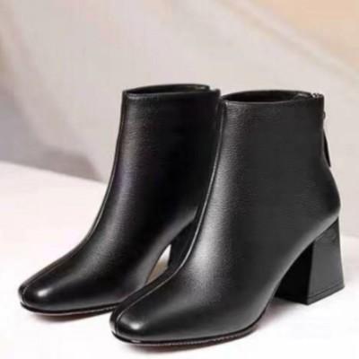 ヒルズスタイル hills style ブーツ 靴 シューズ ショートブーツ カジュアル (ブラック)