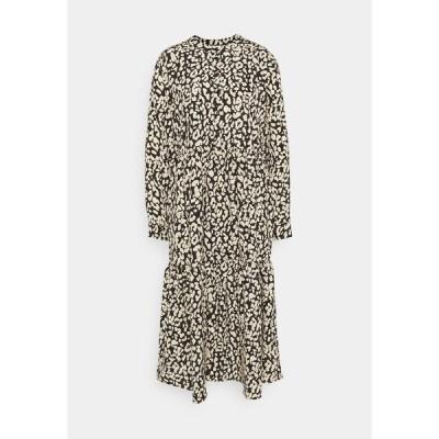 カフェ ワンピース レディース トップス KAKINDA DRESS - Day dress - black/beige