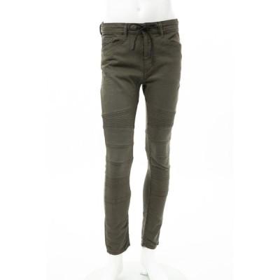 ディーゼル ジーンズパンツ スキニーパンツ ワークパンツ BAKARI-NE Sweat jeans メンズ 00SSLZ 0684T カーキ DIESEL
