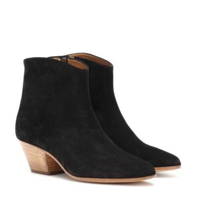 イザベル マラン Isabel Marant レディース ブーツ ショートブーツ シューズ・靴 Dacken suede ankle boots Faded Black