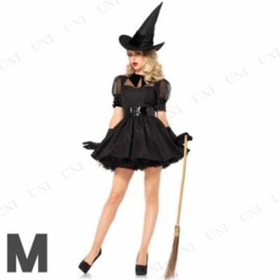 コスプレ 仮装 魅惑的な魔女 大人用 M コスプレ 衣装 ハロウィン 仮装 コスチューム パーティーグッズ 余興 魔法使い 可愛い かわいい ウ
