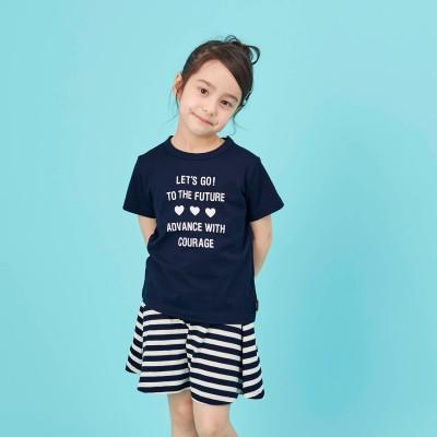 ガールズ半袖Tシャツ&キュロット(ジータ/GITA basic)