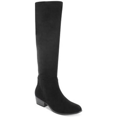 エスプリ レディース ブーツ&レインブーツ シューズ Treasure Suede Dress Boots Black
