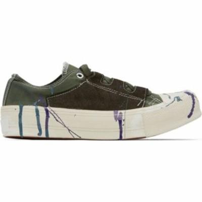 ニードルズ Needles メンズ スニーカー シューズ・靴 khaki paint ghillie sneakers Olive