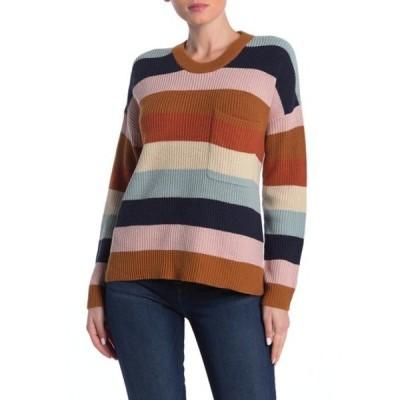 メイドウェル レディース ニット&セーター アウター Thompson Pocket Pullover Sweater HEATHER FAWN
