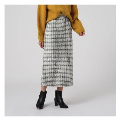 【アンタイトル/UNTITLED】 グランツィードタイトスカート