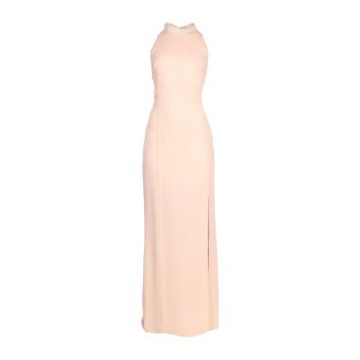 RUBENDELLARICCIA ロングワンピース&ドレス サンド 42 ポリエステル 100% ロングワンピース&ドレス