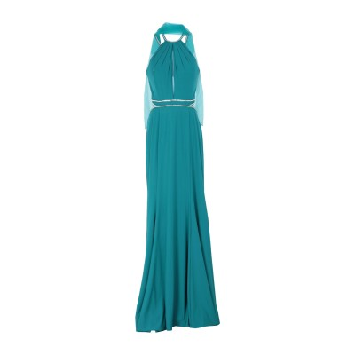 WANNA ROMANÒ ロングワンピース&ドレス ディープジェード 44 ポリエステル 100% ロングワンピース&ドレス