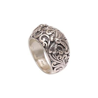 NOVICA .925 Sterling Silver Ring 'Vine Palace'
