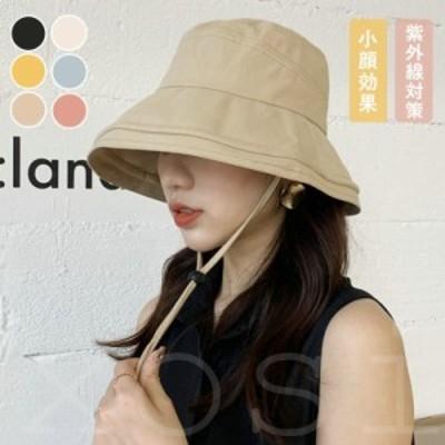 帽子 レディース UVカット 紫外線対策 春夏 日焼け防止 強風 つば広 UV 完全遮光 大きいサイズ 日よけ 飛ばない 母の日 30代 40代 50代 6