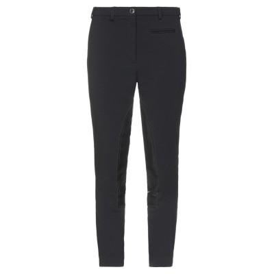 BURBERRY パンツ ブラック 42 レーヨン 68% / ナイロン 28% / ポリウレタン 4% / 羊革(ラムスキン) パンツ
