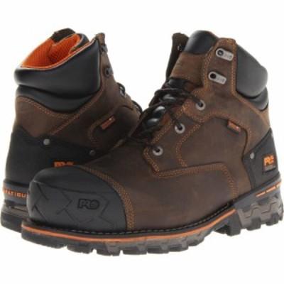 ティンバーランド Timberland PRO メンズ ブーツ シューズ・靴 Boondock WP 6 Comp Toe Brown