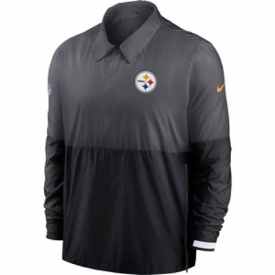 ナイキ Nike メンズ ジャケット コーチジャケット ドライフィット アウター Pittsburgh Steelers Sideline Dri-Fit Coach Jacket