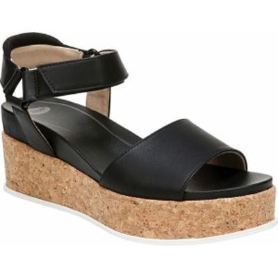 ドクター・ショール レディース サンダル シューズ Women's Dr. Scholl's Beaming Platform Wedge Sandal Black Nubia Classic Synthetic