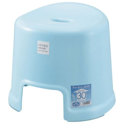 リス H&H 風呂椅子 300(ブルー) HOME&HOME GREL295 返品種別A