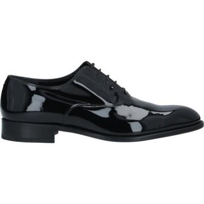 フラテッリ ロセッティ FRATELLI ROSSETTI メンズ シューズ・靴 laced shoes Black