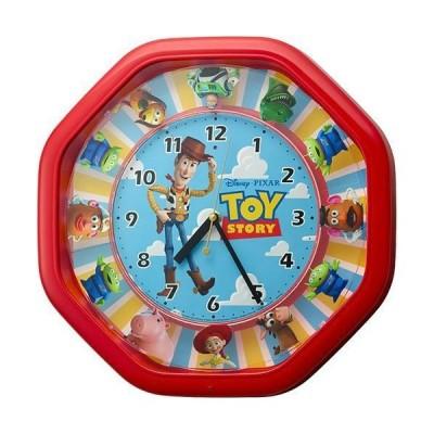 RHYTHM リズム時計 クロック からくり時計 Disney ディズニー トイストーリー ウッディ 音声 メロディ付 4MH440MC01