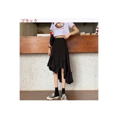 【送料無料】年 夏 韓国風 ハイウエスト 何でも似合う デザイン 感 不規則な マチ | 364331_A63180-3175236
