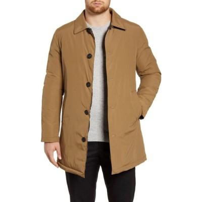 コールハーン COLE HAAN メンズ コート アウター Reversible Quilted Mac Coat Khaki