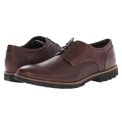 ロックポート Colben Plain Toe Oxford メンズ オックスフォード Chocolate Brown