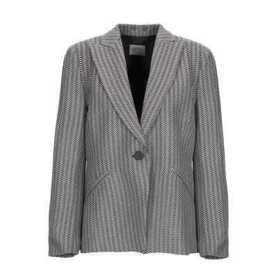 アルマーニ コレッツィオーニ ARMANI COLLEZIONI テーラードジャケット ダークブラウン 42 64% バージンウール 35% シルク