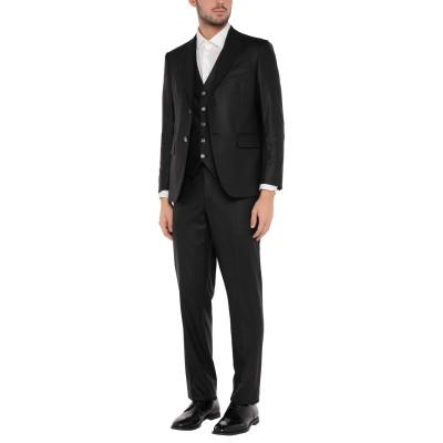 RENATO BALESTRA スーツ ブラック 48 ポリエステル 54% / ウール 44% / ポリウレタン 2% スーツ