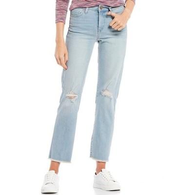 ウィリアム ラスト レディース デニムパンツ ボトムス High Rise Straight Jeans
