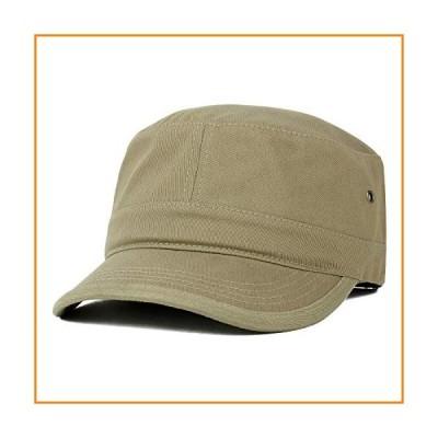 Trendy Apparel Shop HAT メンズ US サイズ: XX-Large カラー: ベージュ【並行輸入品】