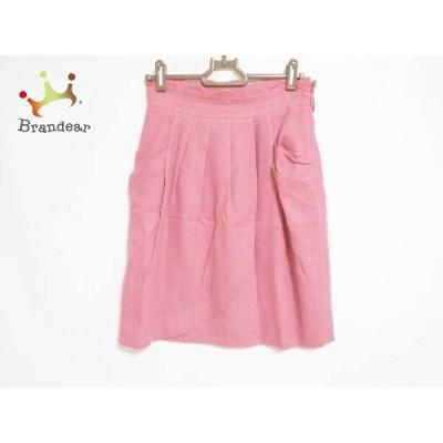 アプワイザーリッシェ Apuweiser-riche スカート サイズ2 M レディース 訳あり ピンク ラメ  スペシャル特価 20210313