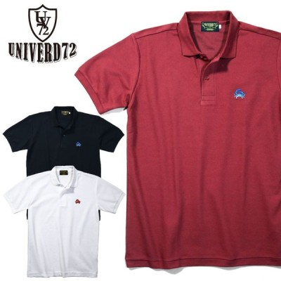 2020S/S『UNIVERD72 / ユニバード72』21783 EMB POLO SHIRT(CRAB) / 刺繍 ポロシャツ(蟹) -全3色-
