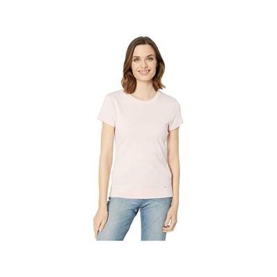 カルバン・クライン Cotton T-Shirt レディース シャツ トップス Rose