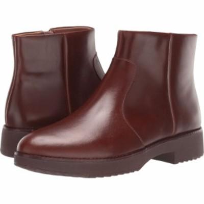 フィットフロップ FitFlop レディース ブーツ ショートブーツ シューズ・靴 Maria Ankle Boot Chocolate Brown