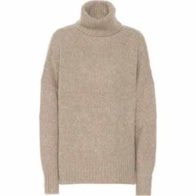 イザベル マラン Isabel Marant. Etoile レディース ニット・セーター トップス Shadow alpaca-blend sweater Beige